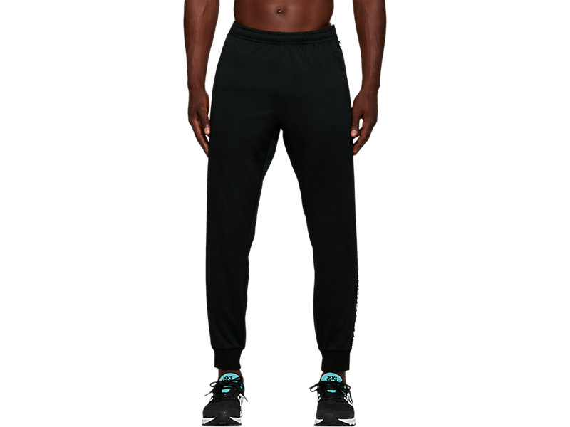 Jersey Pant PERFORMANCE BLACK 1 FT