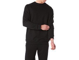 BL Sweat Crew, PERFORMANCE BLACK
