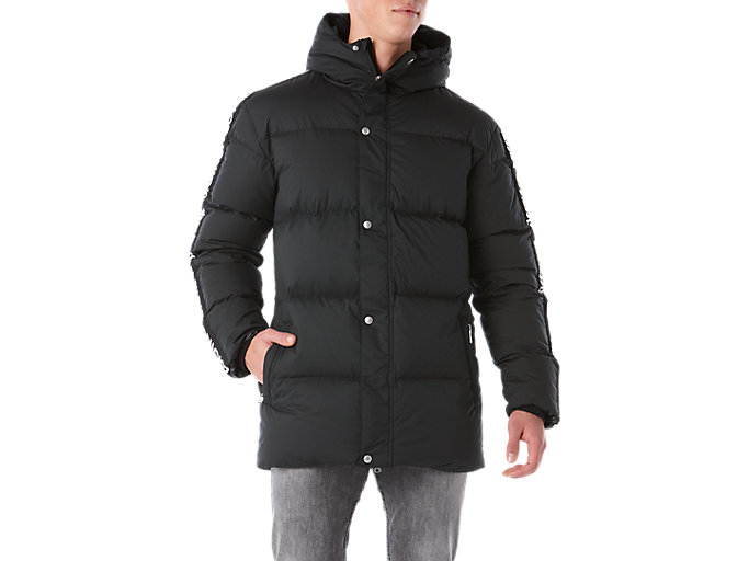 Front Top view of LT Down JKT, PERFORMANCE BLACK