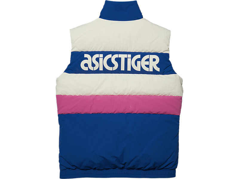 Down Vest Asics Blue 5 BK