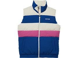 CB Down Gilet, ASICS BLUE