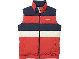 CB Down Vest, RED ALERT