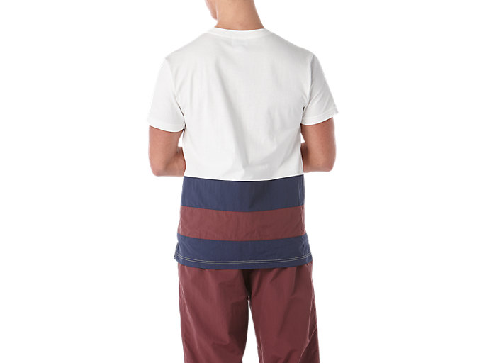 Back view of Color Block Short Sleeve T-Shirt