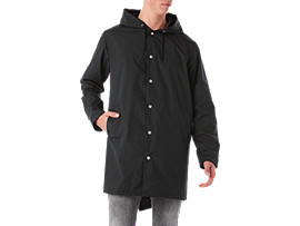 BL Long Coach JKT, PERFORMANCE BLACK