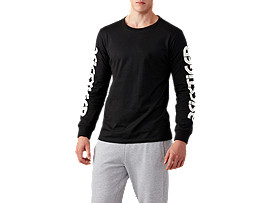 BL LS Tee, PERFORMANCE BLACK