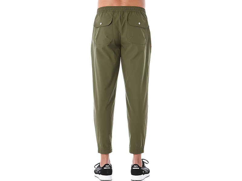 OP WOVEN PANT FOREST 9 BK