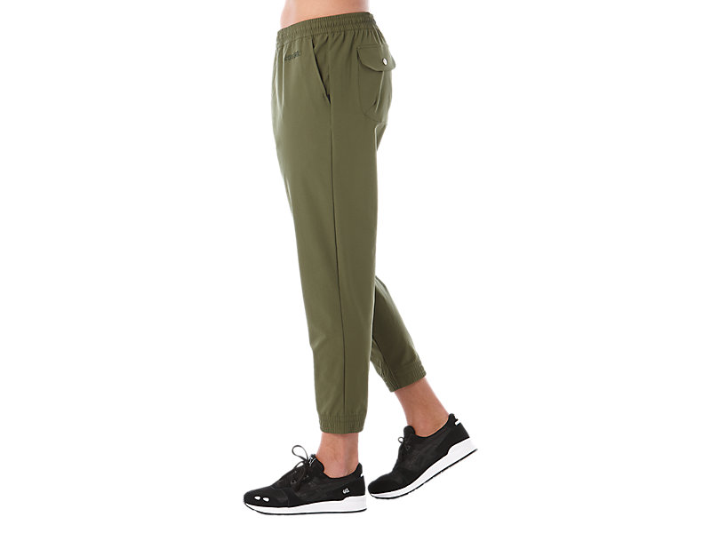OP WOVEN PANT FOREST 9 Z