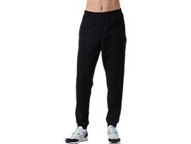 Front Top view of OP Sweat Pants, PERFORMANCE BLACK