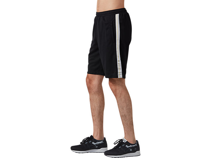 Side view of Light Jersey Shorts, PERFORMANCE BLACK