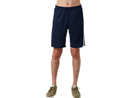 Front Top view of Light Jersey Shorts, MIDNIGHT