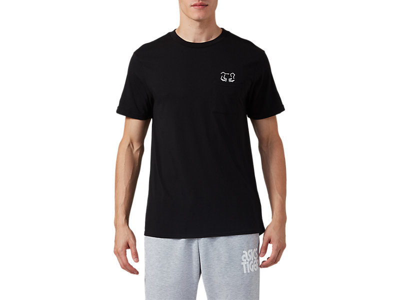 Pocket Short Sleeve Tee PERFORMANCE BLACK 1 FT
