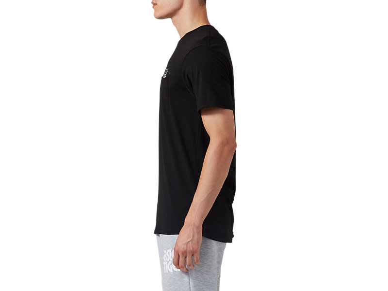 Pocket Short Sleeve Tee Performance Black 9 Z