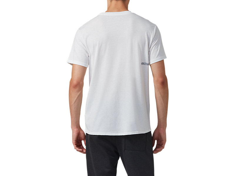 Pocket Short Sleeve Tee REAL WHITE 5 BK