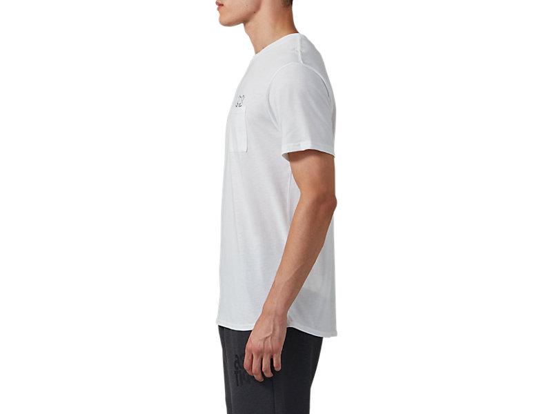 Pocket Short Sleeve Tee REAL WHITE 9 Z