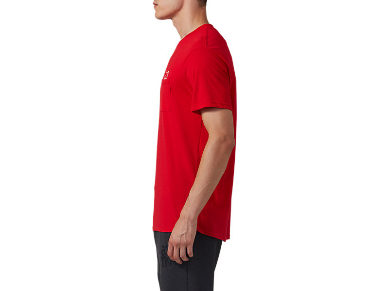 Pocket Short Sleeve Tee CLASSIC RED 9 Z