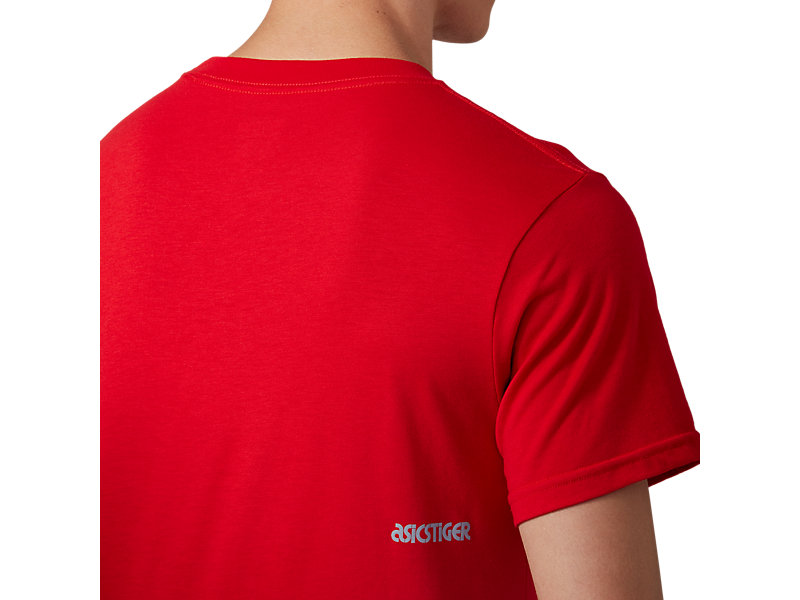 Pocket Short Sleeve Tee CLASSIC RED 17 Z