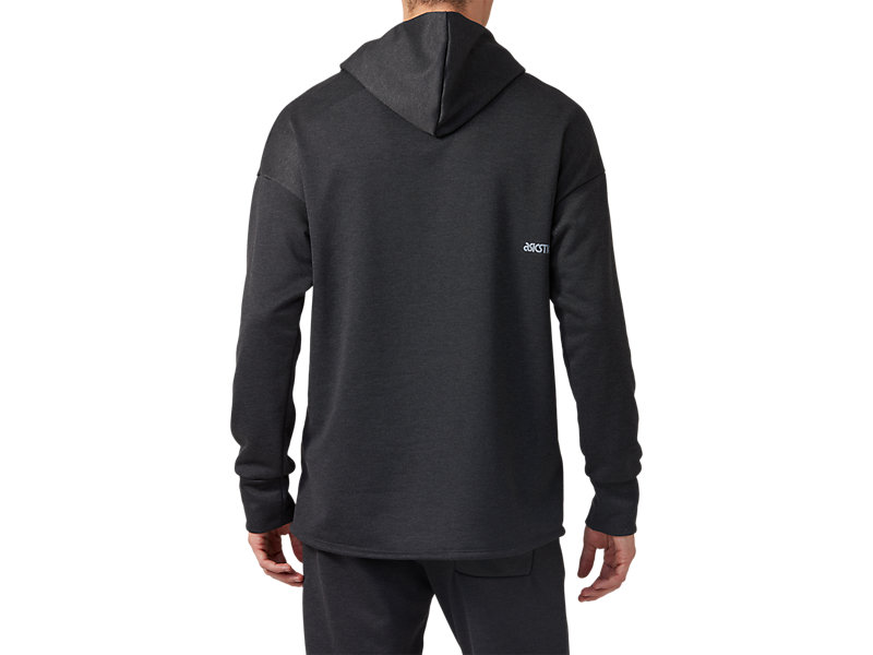BaselayerSweat Hoodie Performance Black Heather 5 BK
