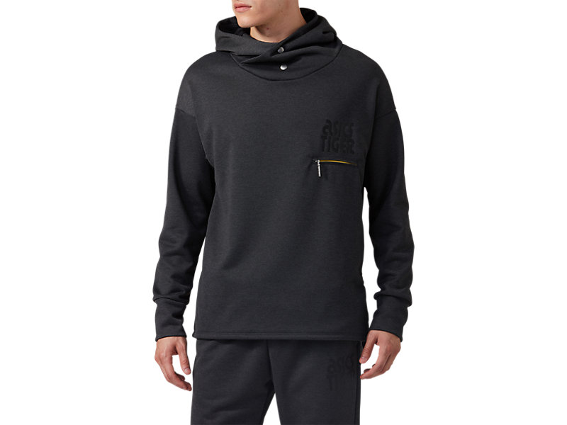 BaselayerSweat Hoodie Performance Black Heather 1 FT