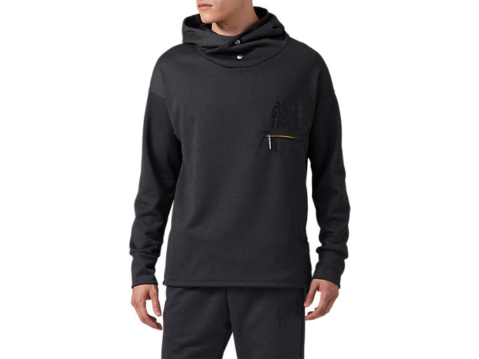 Front Top view of BaselayerSweat Hoodie