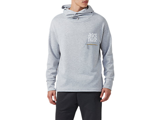 BL Sweat Hoodie GLACIER GREY HEATHER