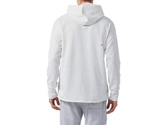 BL SWEAT HOODIE REAL WHITE HEATHER