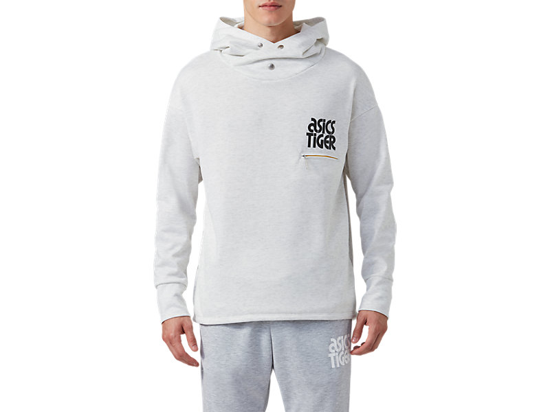 BaselayerSweat Hoodie REAL WHITE HEATHER 1 FT
