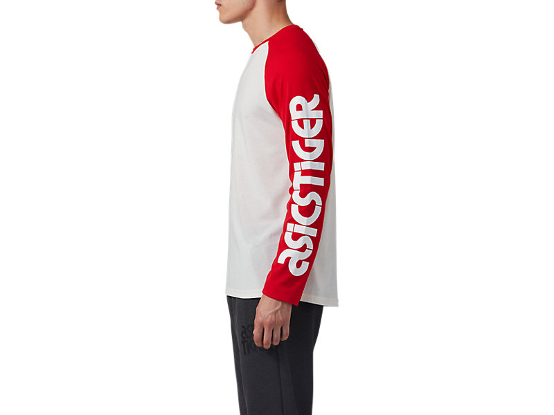 Baselayer Long Sleeve Tee Cream / Classic Red 9 Z