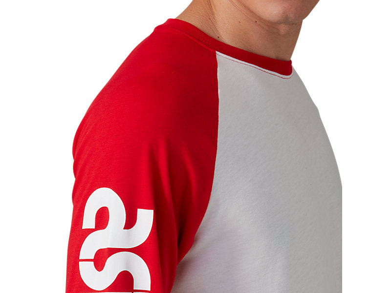 Baselayer Long Sleeve Tee Cream / Classic Red 17 Z