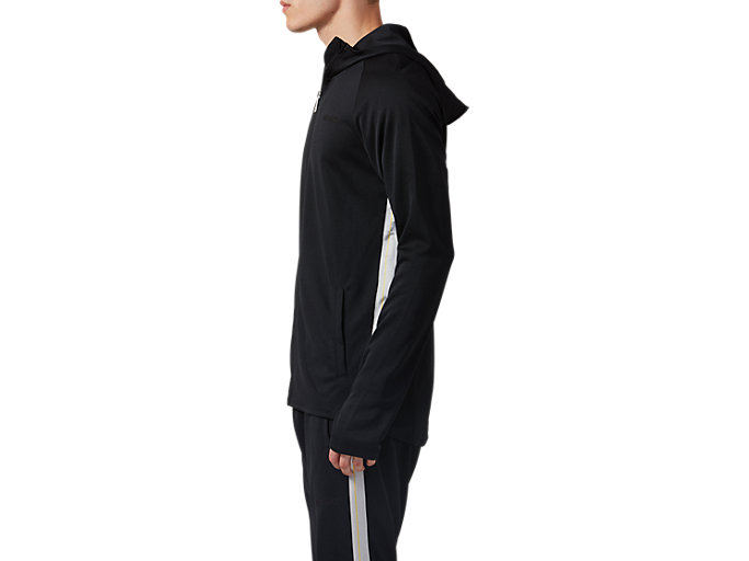Side view of Light Jersey Jacket, PERFORMANCE BLACK