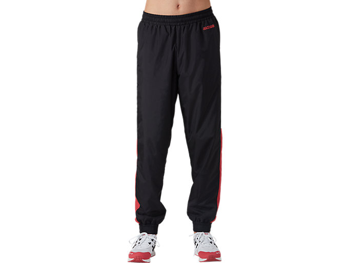 Front Top view of CB Track Pants, PERFORMANCE BLACK