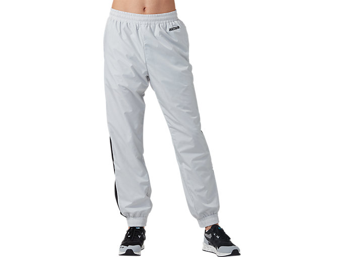 Front Top view of CB Track Pants, GLACIER GREY