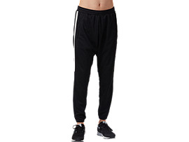 Front Top view of Light Jersey Pants, PERFORMANCE BLACK