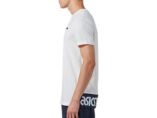 SHORT SLEEVE TEE REAL WHITE