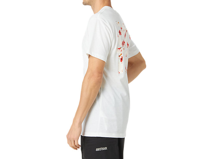 Side view of Cherry Blossom Graphic Short Sleeve Tee