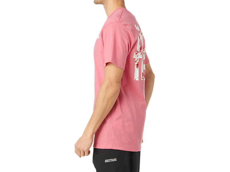 Cherry Blossom Graphic Short Sleeve Tee Flamingo 9 Z