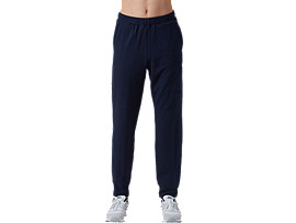 Front Top view of Logo Sweat Pants, MIDNIGHT