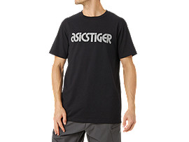 Front Top view of Commuter SS TEE, PERFORMANCE BLACK