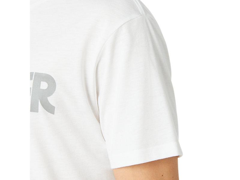 Silver Logo Tee REAL WHITE 21 Z