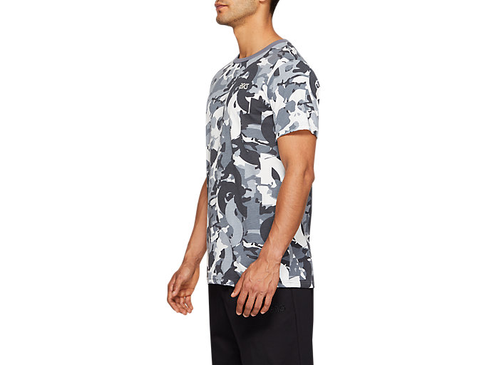 Side view of Camo All Over Print Tee