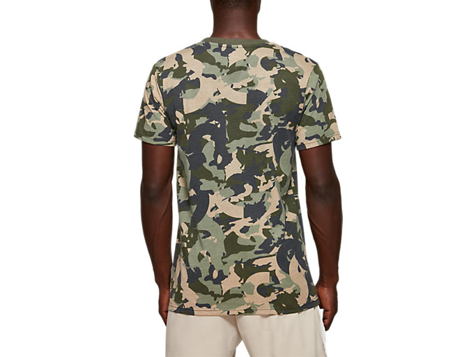 Back view of Camo All Over Print Tee