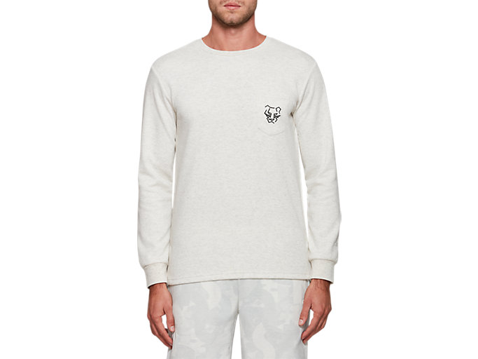Front Top view of Pocket Long Sleeve