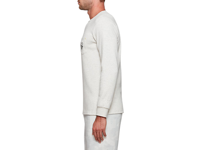 Side view of Pocket Long Sleeve