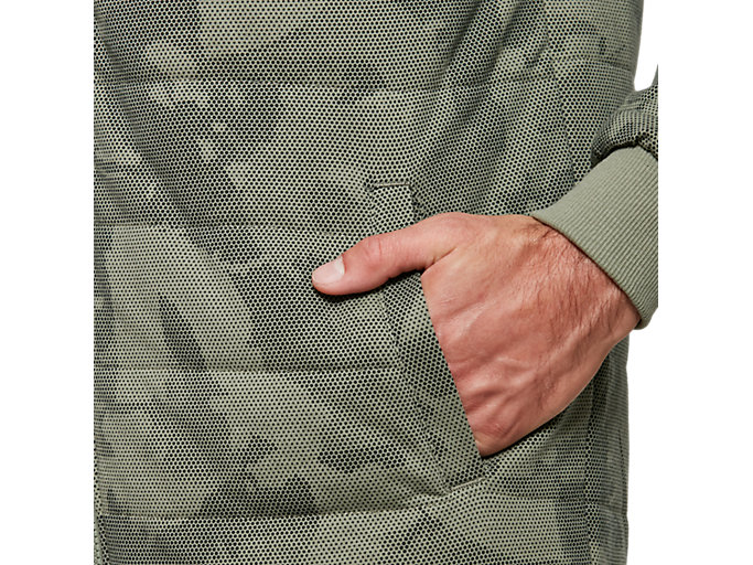 Alternative image view of Padded Hoodie All Over Print