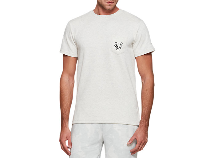 Front Top view of Pocket Tee