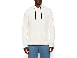 Front Top view of Fleece Pull Over Hoodie