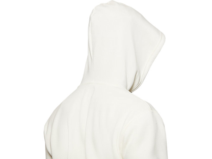 Alternative image view of Fleece Pull Over Hoodie, CREAM