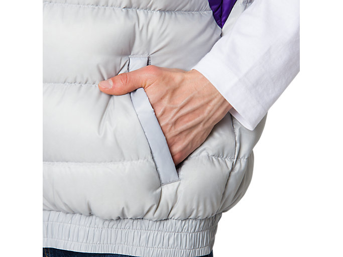 Alternative image view of Down Vest, MID GREY