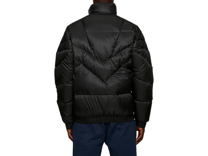 Back view of Down Jacket, PERFORMANCE BLACK
