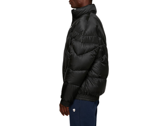 Side view of Down Jacket, PERFORMANCE BLACK