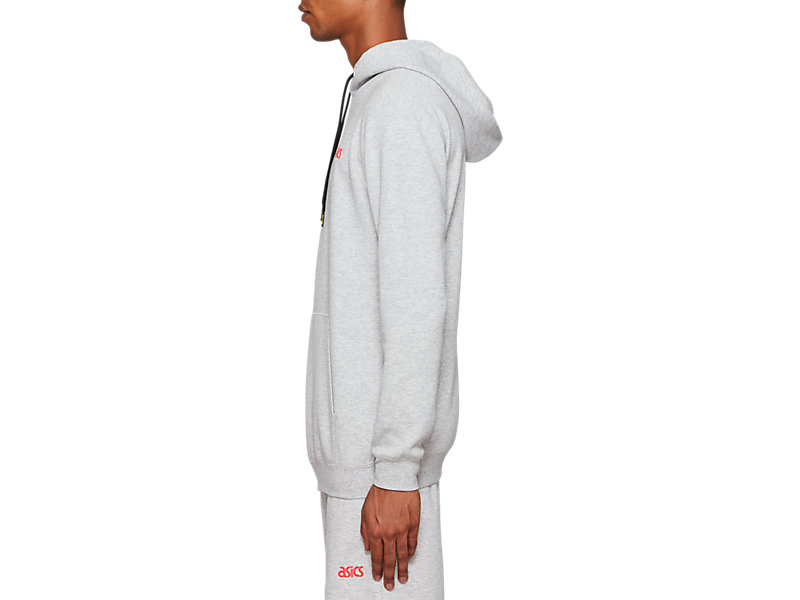 One Point Sweat Pull Over Hoodie MID GREY HEATHER 9 Z